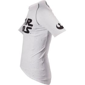 Bioracer Spitfire Star Wars Logo Fietsshirt korte mouwen Heren wit